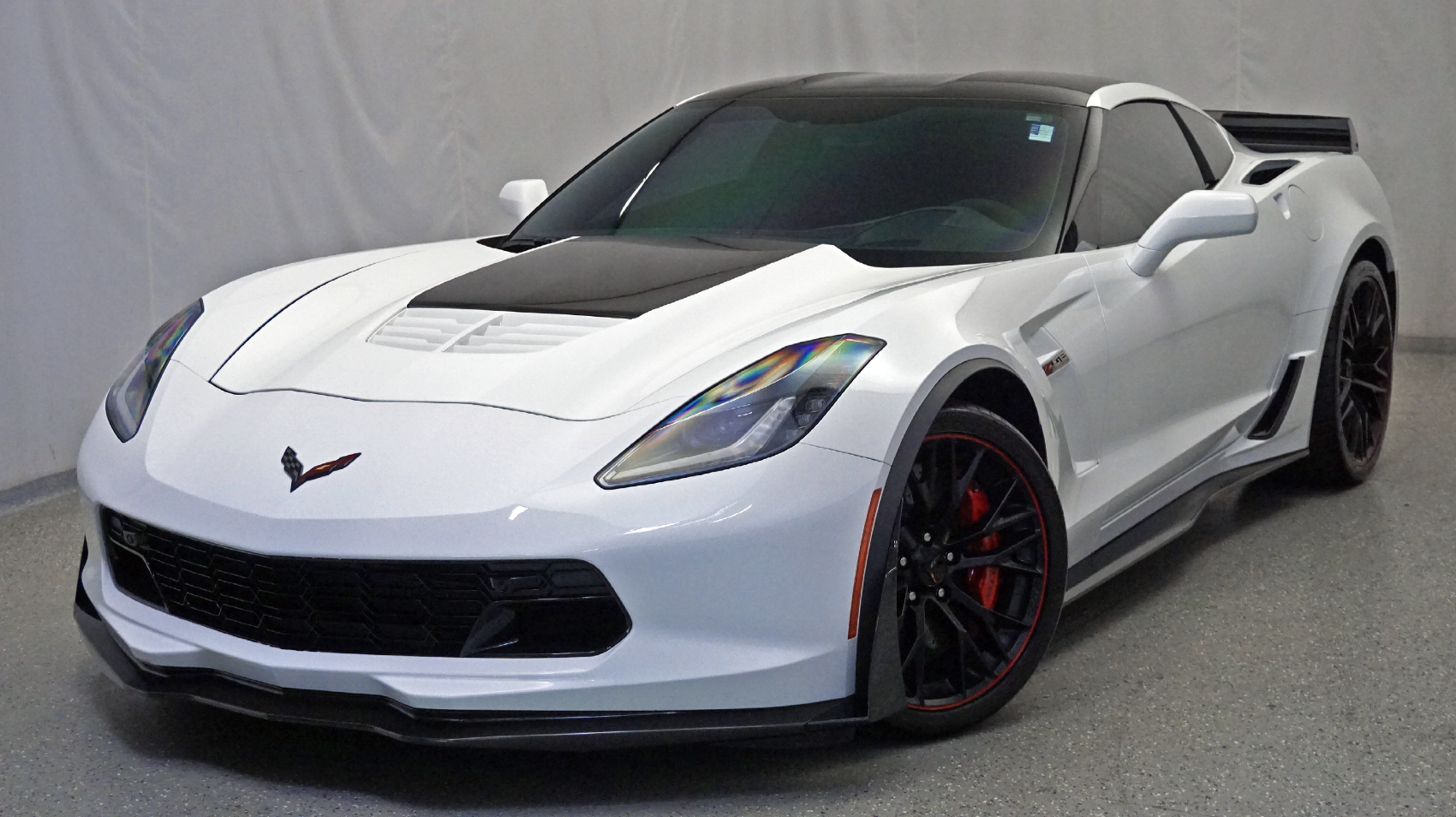 Pre-Owned 2017 Chevrolet Corvette Z06 3LZ 7-Speed Manual, Z07 Performance  Package