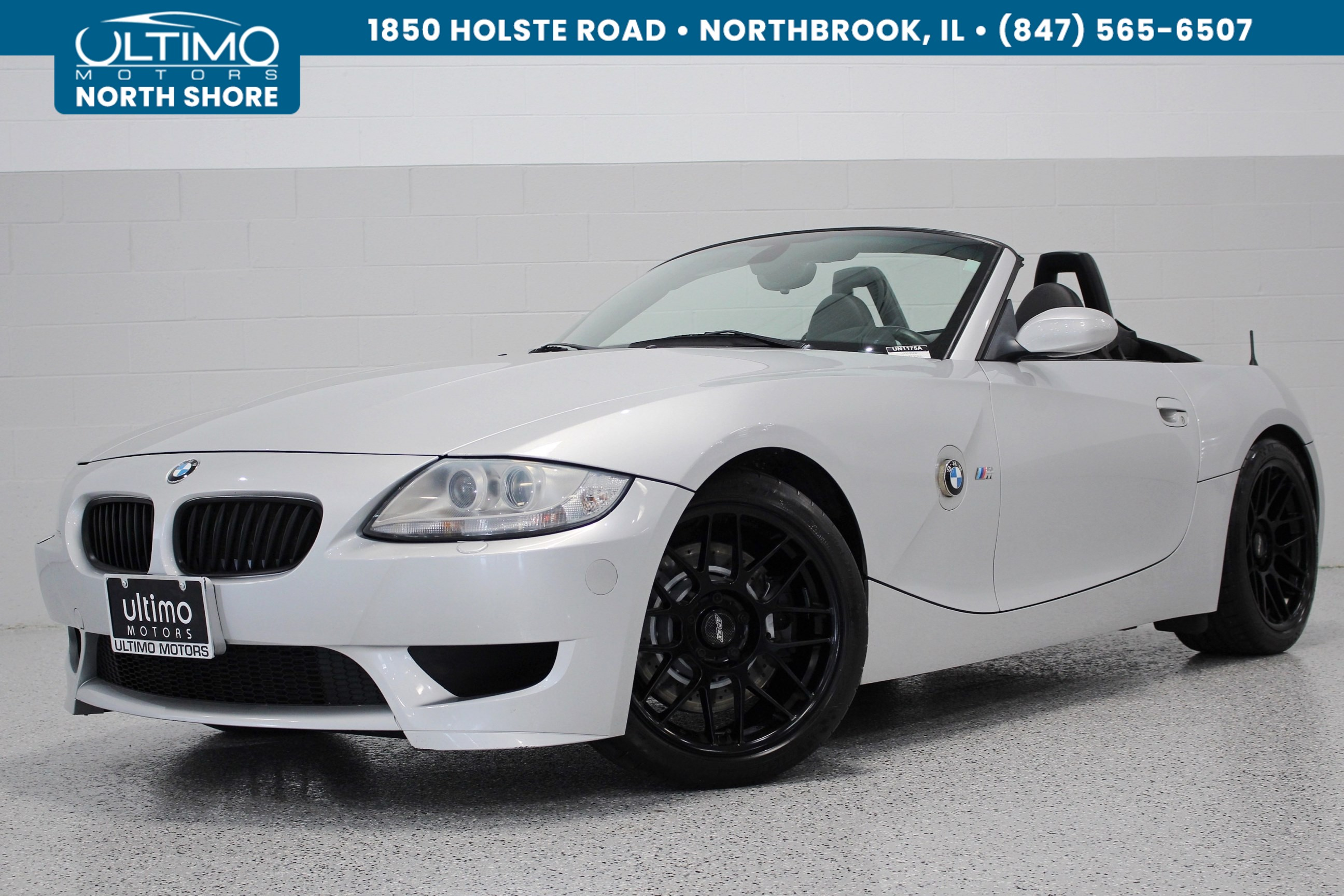 Pre Owned 2006 Bmw Z4 M Navigation Heated Seats Racing Wheels
