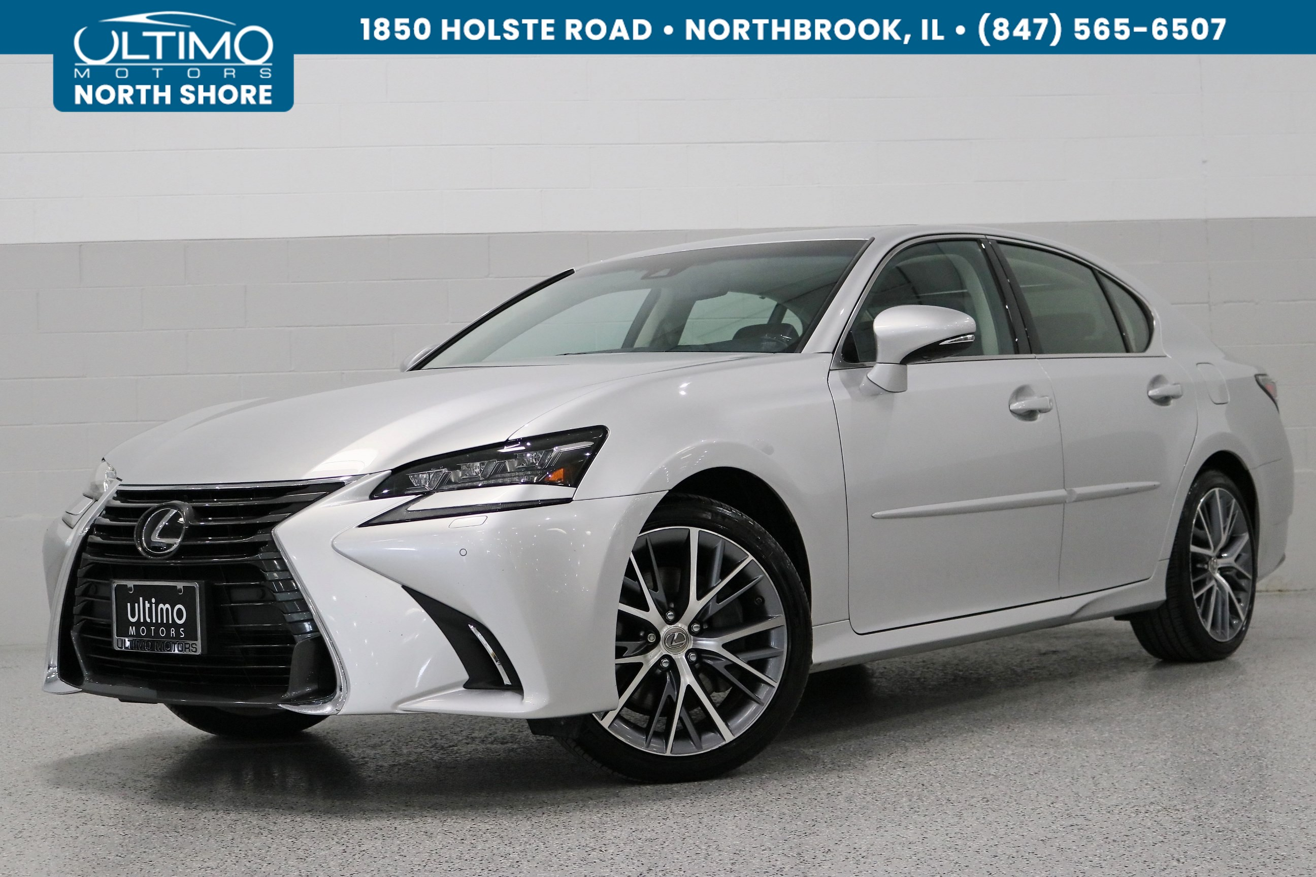 Pre Owned 2017 Lexus Gs 350 Luxury Package Hud Intuitive Park