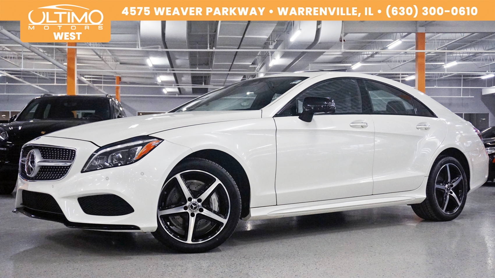 Pre Owned 2018 Mercedes Benz Cls 550