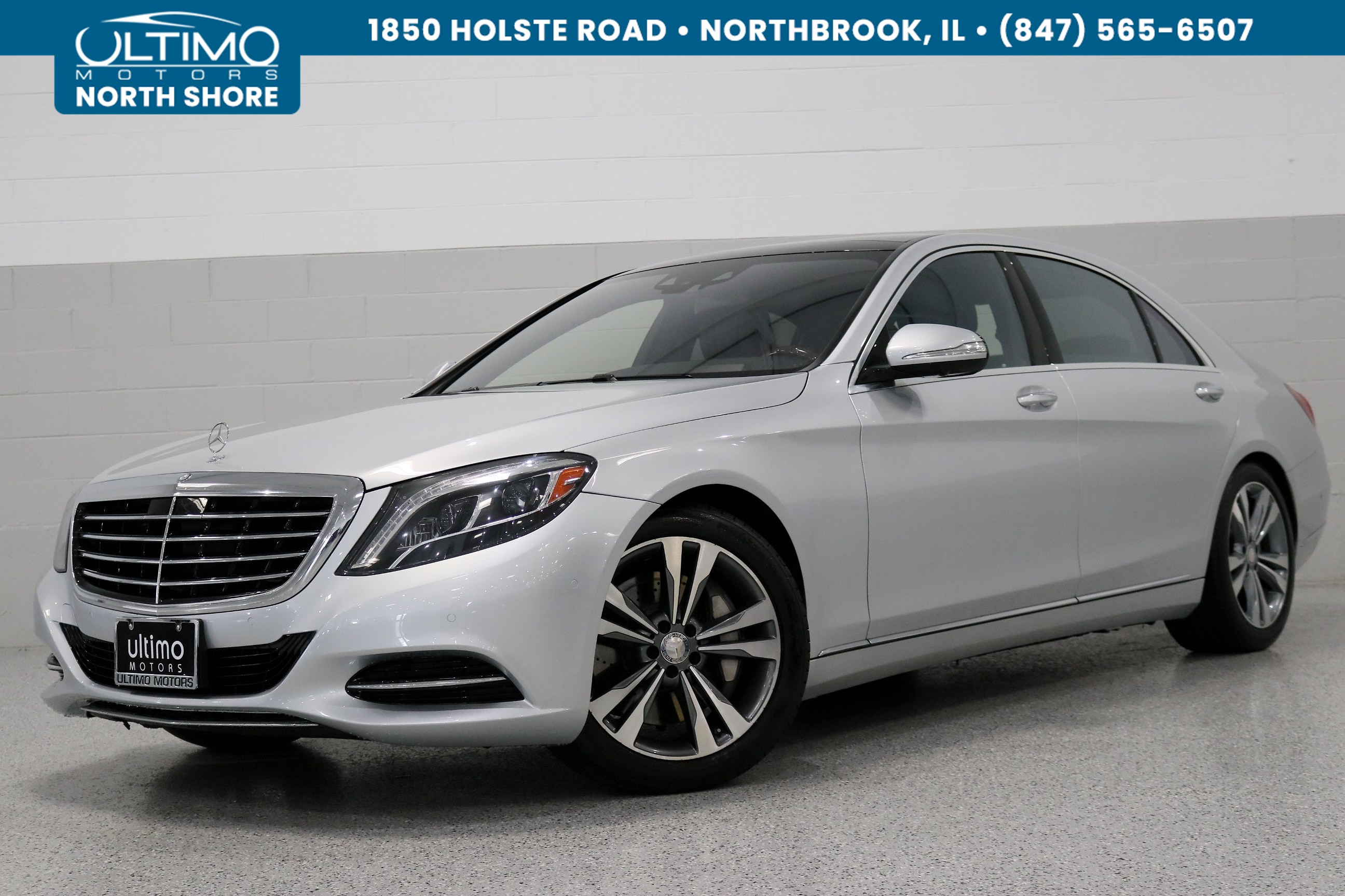 Pre Owned 2016 Mercedes Benz S Cl 550