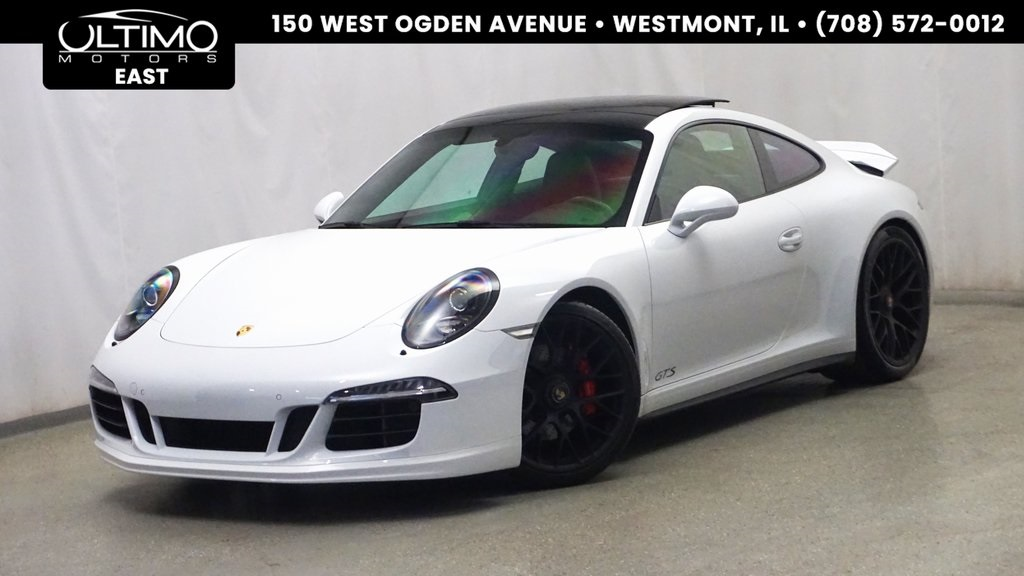 Pre Owned 2015 Porsche 911 Carrera Gts 2d Coupe In Warrenville