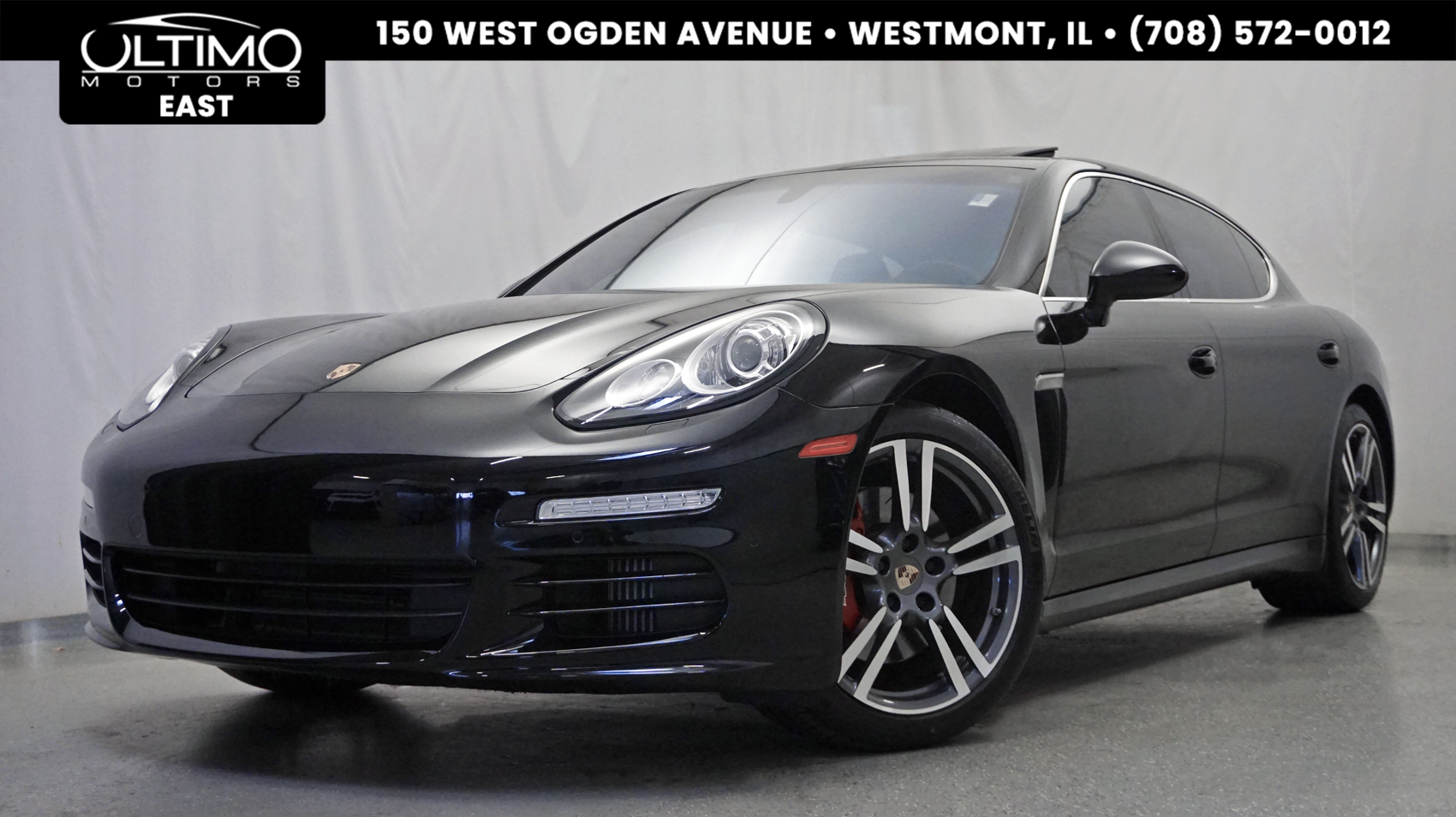 Pre Owned 2014 Porsche Panamera 4s Executive 20 Inch Wheels