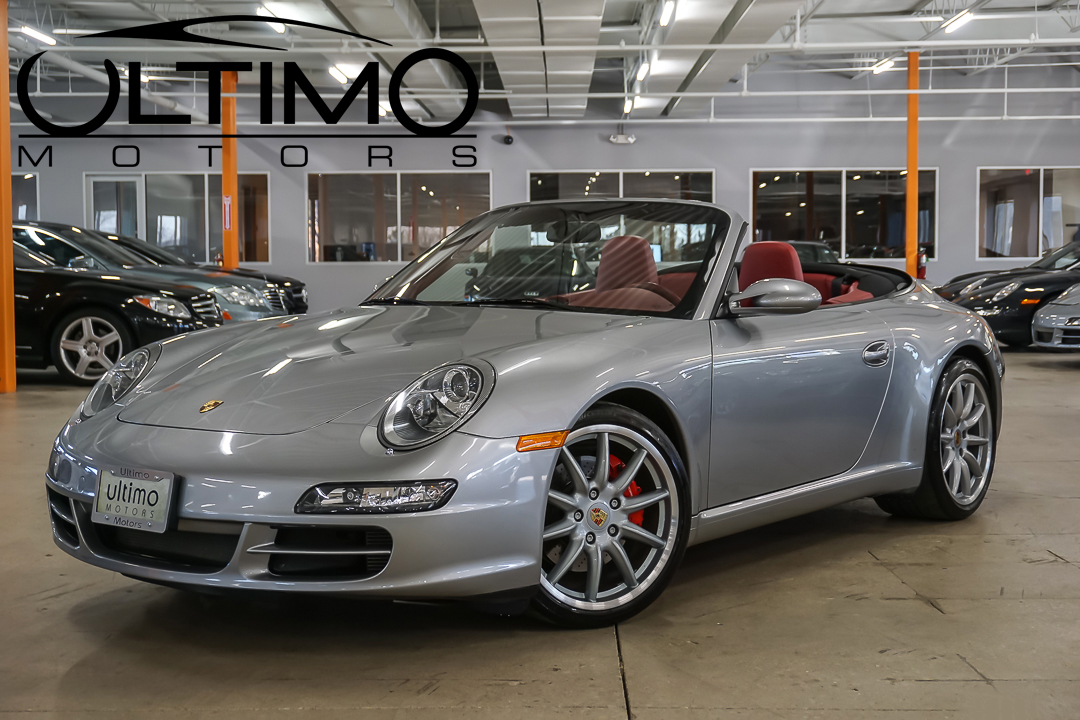pre owned 2008 porsche 911 carrera s convertible convertible in warrenville u1823 ultimo motors. Black Bedroom Furniture Sets. Home Design Ideas