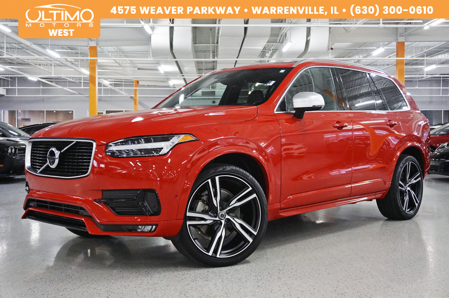 Pre Owned 2016 Volvo Xc90 T6 R Design Convenience Vision Pkg 22